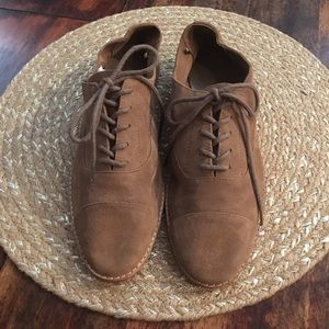 Gap Leather Lace up Loafers